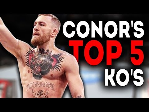 Conor McGregor's Best Knockouts (Highlights)