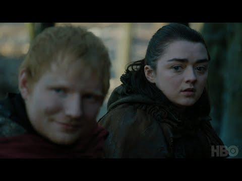 Game of Thrones: Season 7 Episode 1 Clip: Arya and Ed Sheeran (HBO)