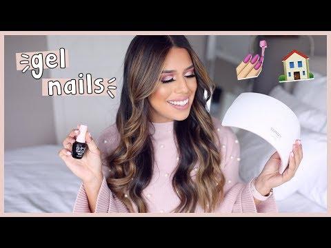 DIY Best Gel Nails  Amazon UV Lamp