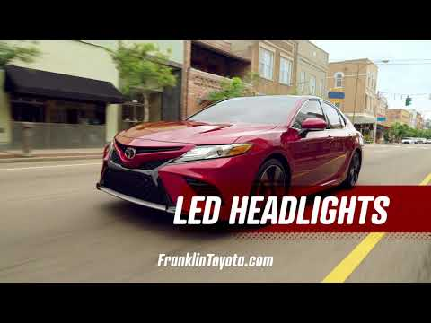 Franklin Toyota - All-New 2018 Camry