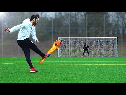 freekickerz vs Hakan Calhanoglu - Ultimate Free Kick Challenge