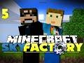 Minecraft Modded SkyFactory 5 - THE GOLDEN EGG