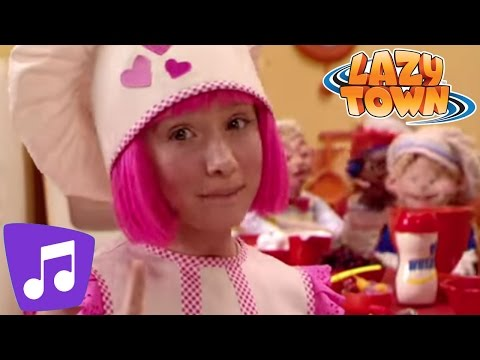 Lazy Town | Cooking By The Book Music Video
