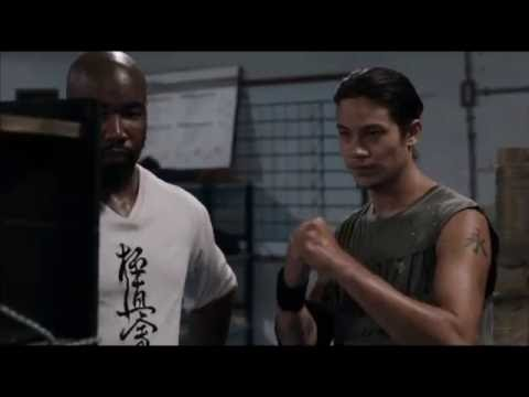 Case Walker(Michael Jai White) teaches on how to punch - Never Back Down 3