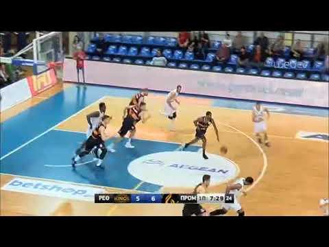 ΡΕΘΥΜΝΟ – ΠΡΟΜΗΘΕΑΣ ΠΑΤΡΩΝ | Basket League | 16/11/2019 | ΕΡΤ