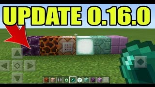 MCPE 0.16.0 UPDATE GAMEPLAY!! Minecraft PE (Pocket Edition) Fake 0.16.0 APK GAMEPLAY!