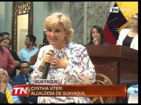 50 sillas de ruedas fueron entregadas por municipio de Guayaquil y Club de Leones