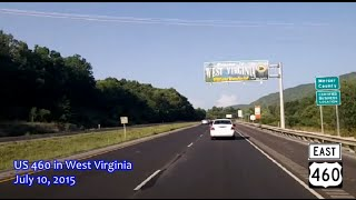 Princeton (WV) United States  city photo : US 460 in West Virginia, eastbound, between the two Virginia segments