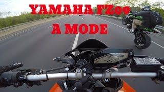 10. 2014 Yamaha FZ09 A Mode