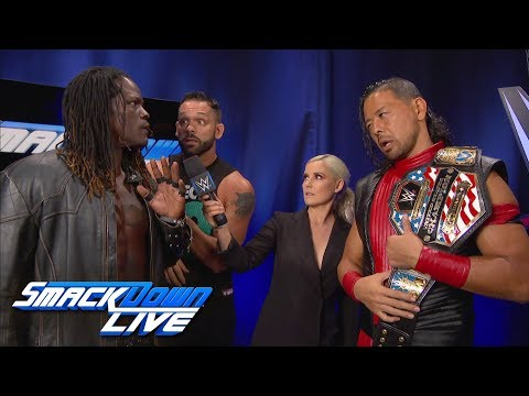 R-Truth Challenges Shinsuke Nakamura For SummerSlam: SmackDown LIVE, Aug. 7, 2018