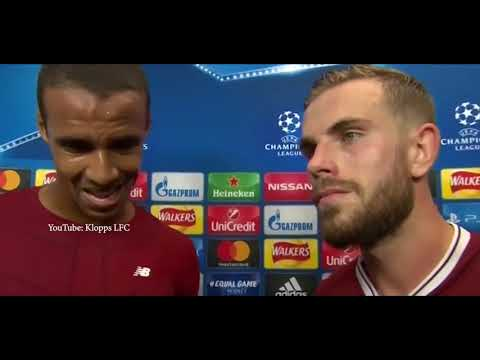Liverpool Vs Sevilla 2 2 Henderson And Matip Post Match Interview | ALL LFC