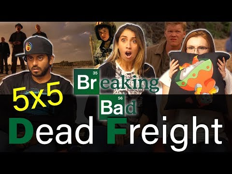 Breaking Bad - 5x5 Dead Freight - Group Reaction