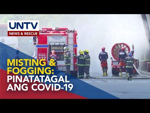 Misting at fogging, mas pinatatagal ang buhay ng COVID-19 - Department of Health