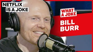Dave Chappelle Thinks Bill Burr Is Funny | What A Joke | Netflix Is A Joke