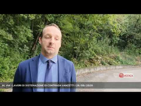 AL VIA I LAVORI DI SISTEMAZIONE DI CONTRADA VANZETTI | 26/09/2020