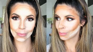 How To Cream Contour and Highlight For Beginners