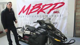 10. Ski-doo 1200 MBRP Trail Exhaust