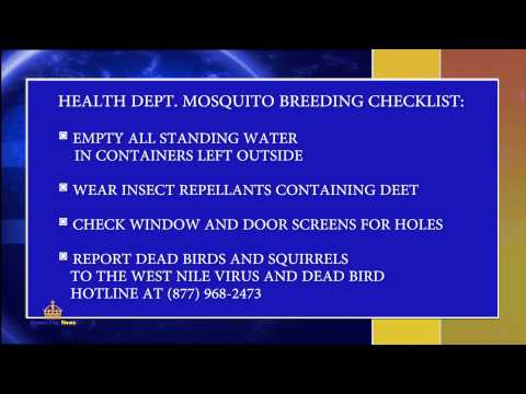 West Nile cases in Southern California