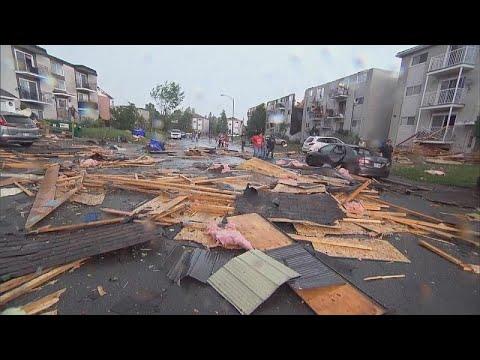 Tornado wütet in Ottawa und Gatineau im Osten Kanadas