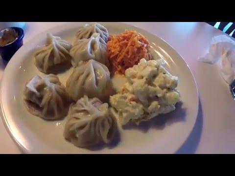 США 3784: Монгольский ресторанв Санта Круз, русская речь, пельмени, борщ и здоровый аппетит
