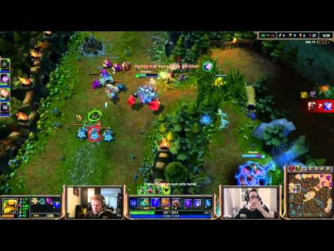 League of Legends # 388 - Ultra Rapid Fire «» Let's Play League of Legends | HD
