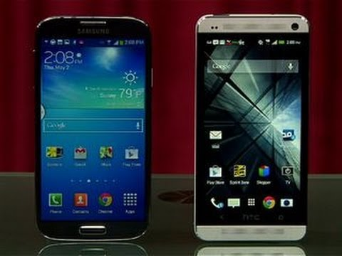 samsung - http://cnet.co/17M0Gft It's two Android titans duking it out for smartphone supremacy in the Prizefight ring. It's the Samsung Galaxy S4 versus the HTC One. ...