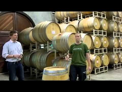 Eddie Martini's Wine 101: Wine Barrels - Anne Amie Winery