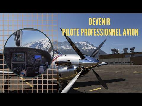 Comment DEVENIR PILOTE PROFESSIONNEL AVION (CPL/A) ?