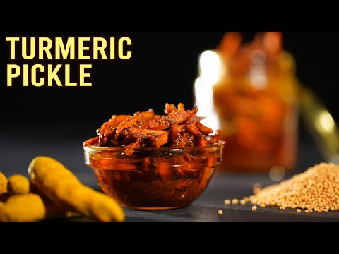 Fresh Turmeric Pickle | MOTHER'S RECIPE | Haldi Ka Achar | How To Make Pickle | Best Pickle Recipe