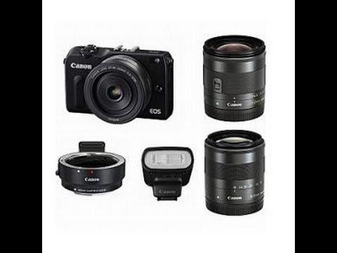 Canon EOS M2 トリプルレンズキットがやってきた その1