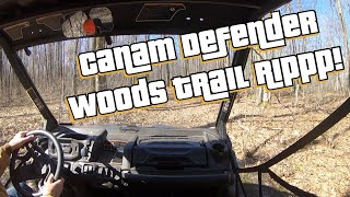 10. A Quick Riippp through the 40 Acres. Canam Defender HD10 DPS!!