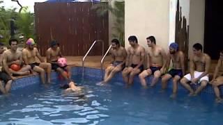 HOT Sofia Hayat Swimming in Bikini