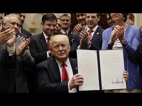 Τραμπ: Υπέγραψε διάταγμα που επιτρέπει τις γεωτρήσεις στον Αρκτικό και τον Ατλαντικό