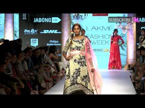 NARGIS FAKHRI ON RAMP AT LAKME Fashion Week Part 1