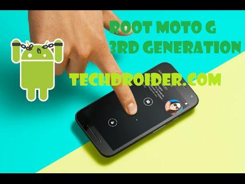 Descargar Moto G 3rd Gen(2015) – How to Root – Unlock Bootloader & Custom Recovery para Celular  #Android