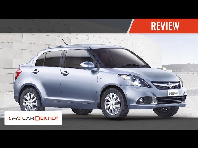 2015 Dzire - review of features