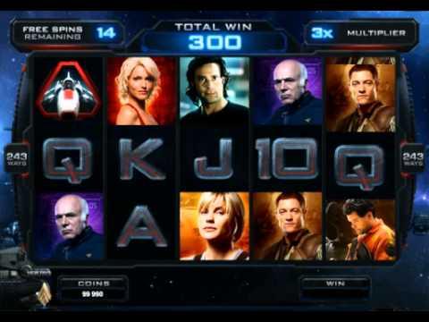 Battlestar Galactica Video Slot Game Promo