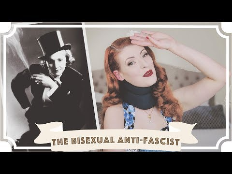 The Bisexual Anti-Fascist // Marlene Dietrich [CC]
