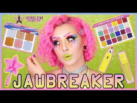 REVUE JAWBREAKER COLLECTION 💚⛱ Jeffree Star Cosmetics | Palette, Highlighter & Plus