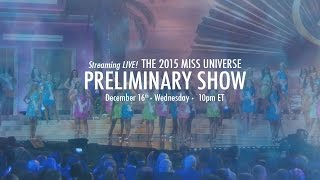 Video 2015 Miss Universe Preliminary Competition MP3, 3GP, MP4, WEBM, AVI, FLV Juli 2018