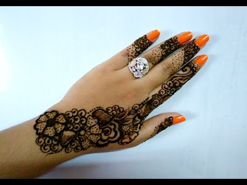 Video Easy DIY Beautiful Arabic Henna Mehndi Design Tutorial - Naush Artistica download in MP3, 3GP, MP4, WEBM, AVI, FLV January 2017