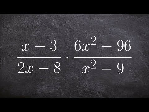 Multiplying two rational expression when simplifying using the difference of two squares