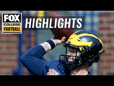Video: Michigan QB Shea Patterson's fumble leads to 1st qtr Army TD | FOX COLLEGE FOOTBALL HIGHLIGHTS
