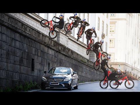 Fabio Wibmer Shows Incredible Urban bicycle Stunts