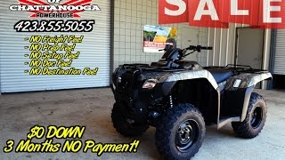 7. 2016 Rancher 420 Camo Review of Specs / ATV SALE @ Honda of Chattanooga TN / TRX420FM1G