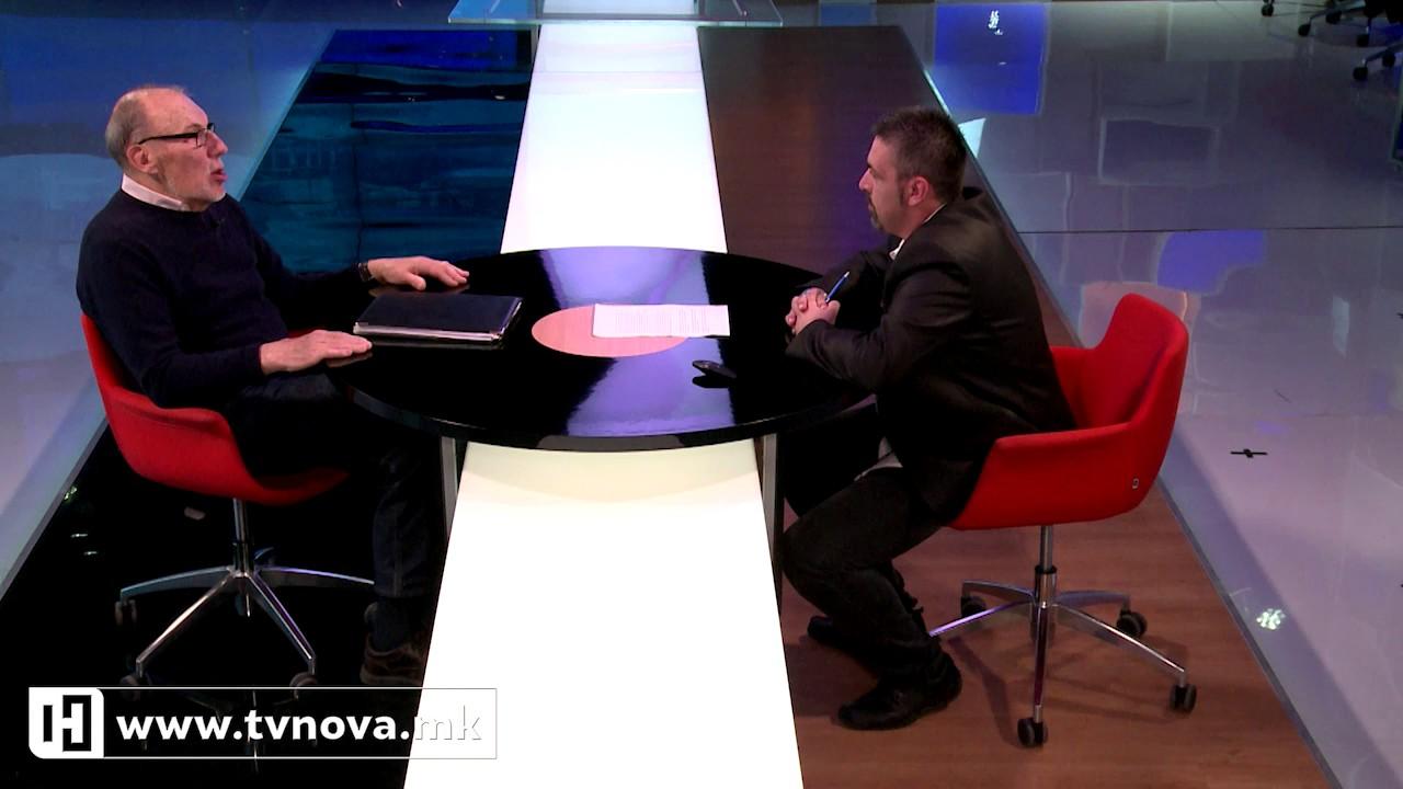 Гостин во вестите – Ристо Никовски