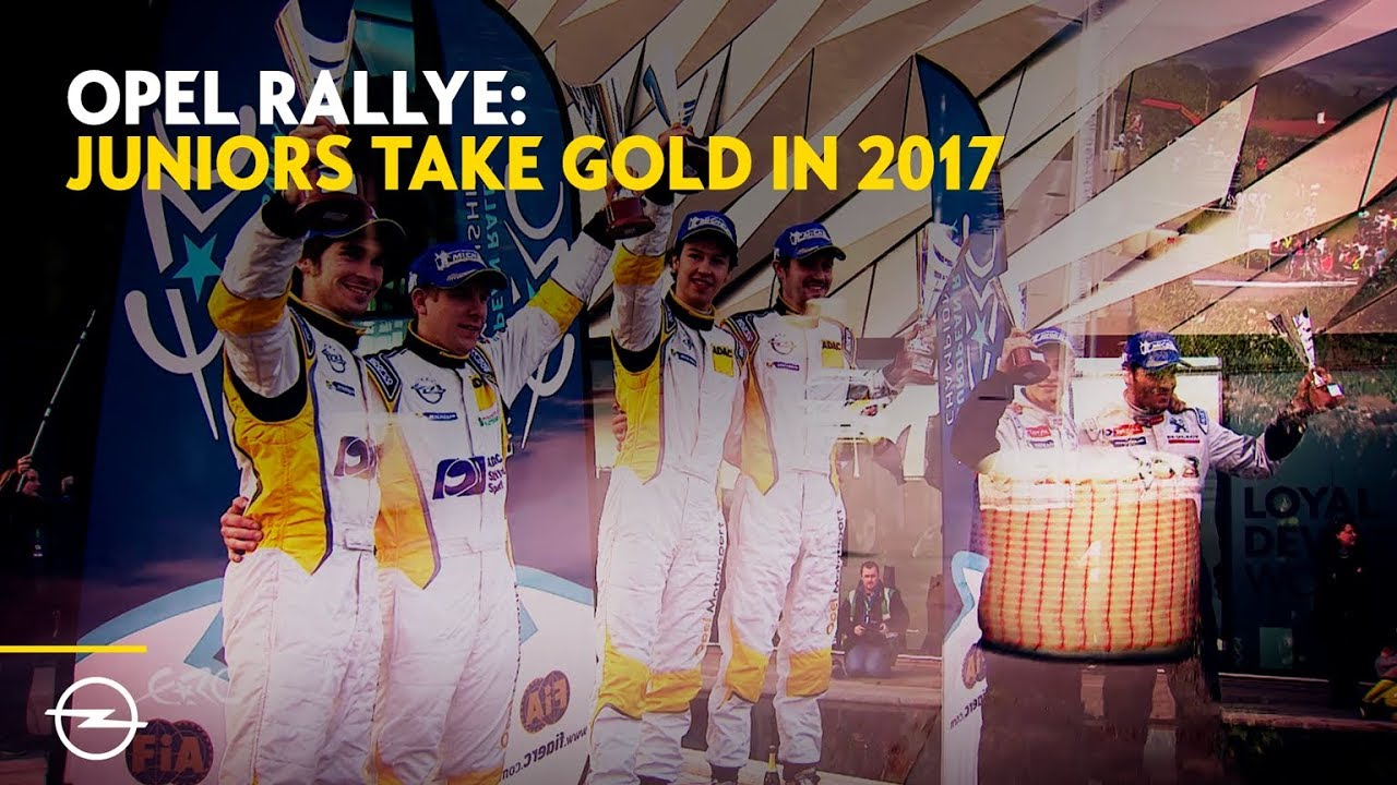 Opel Motorsport Worldwide | FIA ERC Junior, 3 Years of Triumph