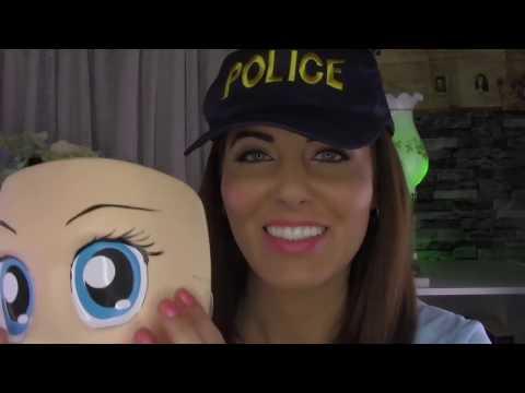 ASMR -  Fun Police Girl Takes Care of You ♥