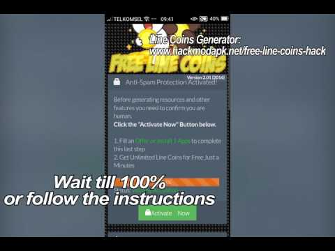 How to get free coins from line chat 316 mb wallpaper follow instructions how to get free unlimited coins in line chat ccuart Images