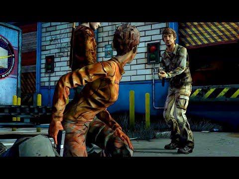 Jane Shoots Troy's Dick (Walking Dead | Death | Telltale Games) (видео)